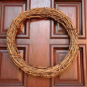 Ashland Wrapped & Woven Natural Grapevine Wreath